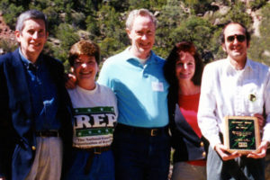 Five REP leaders gather in New Mexico in 1999.