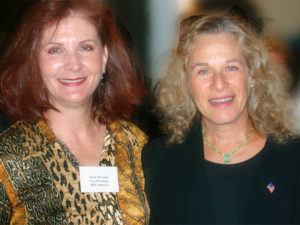 REP co-founder Aurie Kryzuda with singer-songwriter Carole King