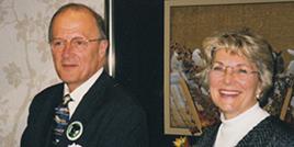 Representatives Sherwood Boehlert and Sue Kelly (both R, NY) at REP's 1999