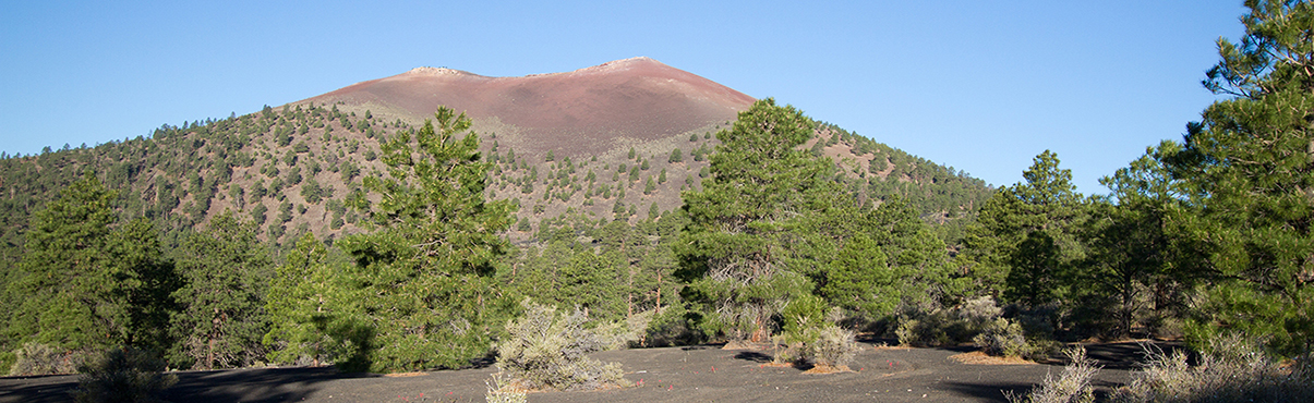Sunset Crater National Monument in Arizona